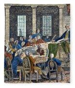 Constitutional Convention Fleece Blanket