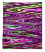 Construction Color Abstract P Fleece Blanket