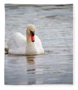 Contemplative Fleece Blanket