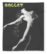 Contemporary Ballet  Fleece Blanket