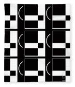 Contemporary Design Vii Fleece Blanket
