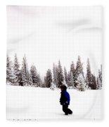 Continental Divide January 1 2000 Fleece Blanket
