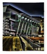 Convention Center Station Fleece Blanket