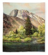 Convict Lake In May Fleece Blanket