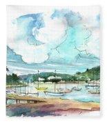 Conway 04 Fleece Blanket