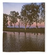 Cooinda Northern Territory Australia Fleece Blanket