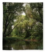 Cook County Forest Preserve No 6 Fleece Blanket