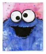 Cookie Monster Fleece Blanket