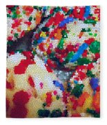 Cookies Mosaic Fleece Blanket