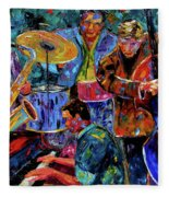 Cool Jazz Fleece Blanket