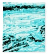 Cool Sea Fleece Blanket