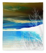 Cool Waters Fleece Blanket