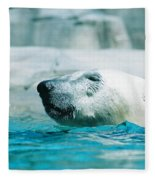 Cooling Off Fleece Blanket