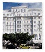 Copacabana Palace Fleece Blanket