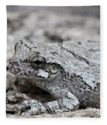 Cope's Gray Tree Frog #5 Fleece Blanket