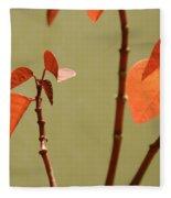 Copper Plant 2 Fleece Blanket
