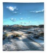Coquina Beach, Cape Hatteras, North Carolina Fleece Blanket