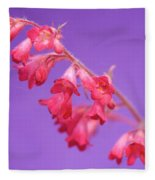 Coral Bells Fleece Blanket