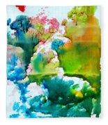 Corals Fleece Blanket