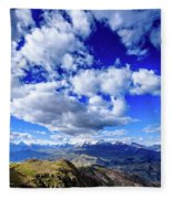 Cordillera Blanca Fleece Blanket