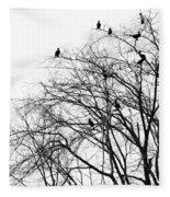 Cormorants Fleece Blanket
