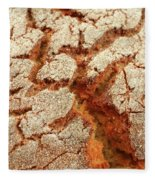 Corn Bread Crust Fleece Blanket