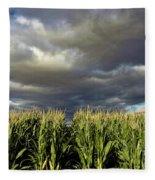 Corn Field Beform Storm Fleece Blanket