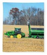 Corn Harvest Fleece Blanket