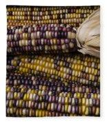 Corn Kernals Fleece Blanket