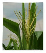 Corn Stalk Fleece Blanket