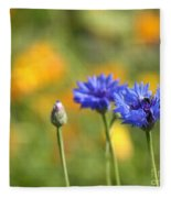Cornflowers -1- Fleece Blanket