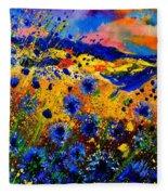 Cornflowers 746 Fleece Blanket