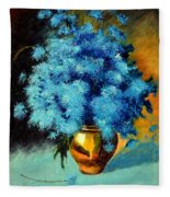 Cornflowers Fleece Blanket
