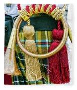 Cornish National Tartan Fleece Blanket