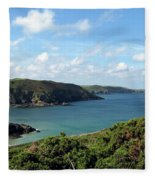 Cornwall Coast II Fleece Blanket