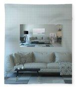 Cornwall Interior Design Fleece Blanket