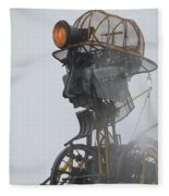 Cornwall Man Engine Fleece Blanket