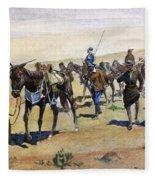 Coronados March, 1540 Fleece Blanket
