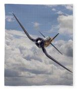 Corsair F4u-n Fleece Blanket
