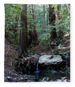 Corte Madera Creek Fleece Blanket