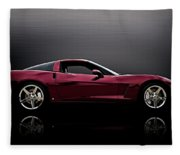 Corvette Reflections Fleece Blanket