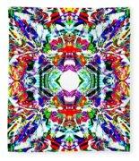 Cosmic Clam Fleece Blanket