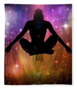 Cosmic Enlightenment... Fleece Blanket