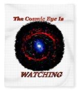 Cosmic Eye 2 Fleece Blanket