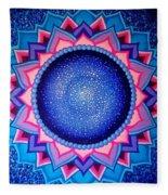 Cosmic Mandala  Fleece Blanket