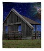 Cosmic Observation Deck Fleece Blanket