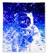 Cosmic Wonders Cropped Fleece Blanket