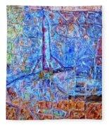 Cosmodrome Fleece Blanket