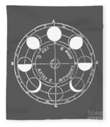 Cosmos 17 Tee Fleece Blanket