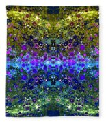 Cosmos Crown Jewels 2 Fleece Blanket
